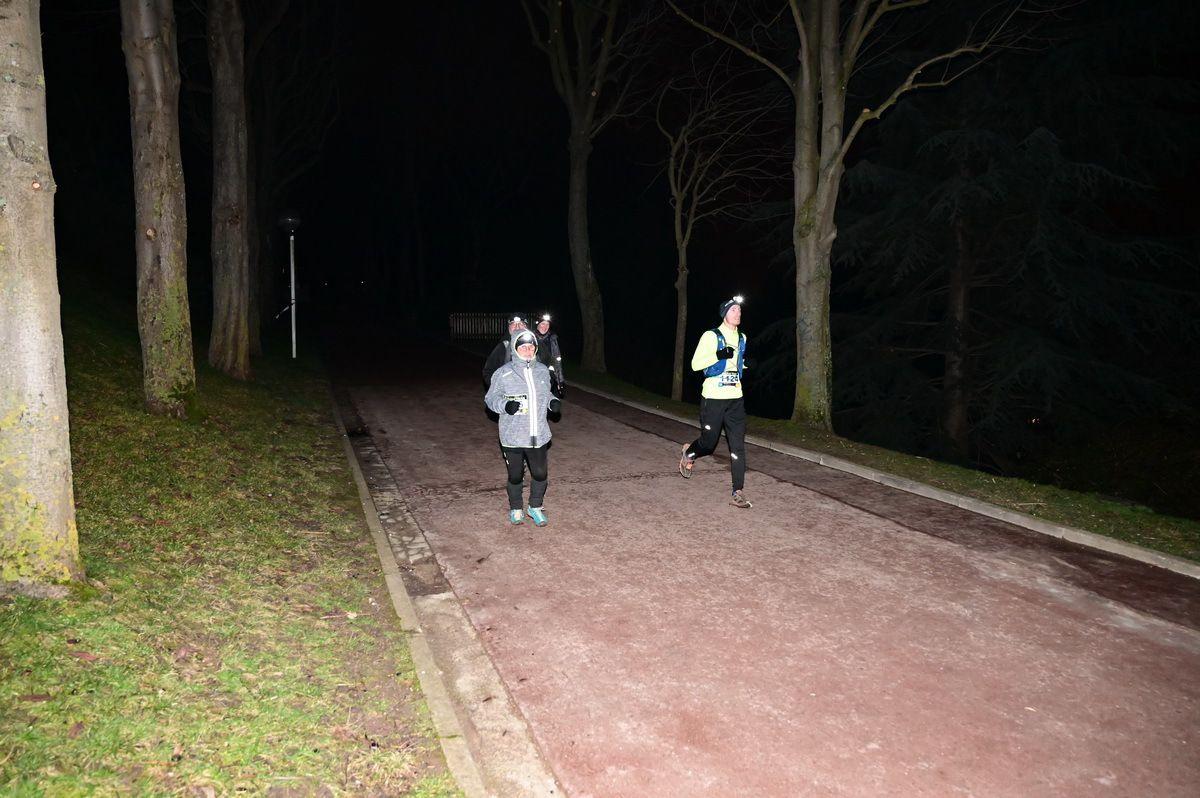 On dépasse des concurrents des courtes distances en fin de course !