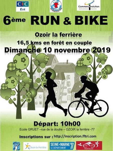 [10/11/2019] Run & Bike d'Ozoir