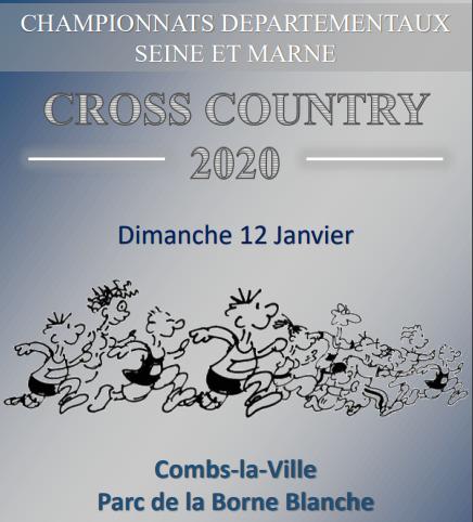 [12/01/2020] Championnats 77 de Cross Long