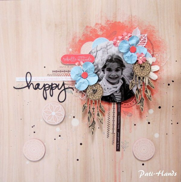 Collection de papiers Hippie Chic de Swirlcards