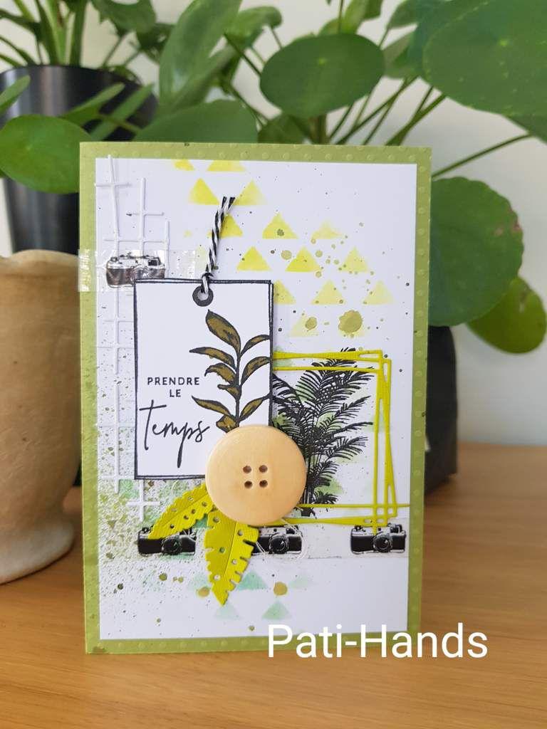 Tampons Florilèges Design et Artémio