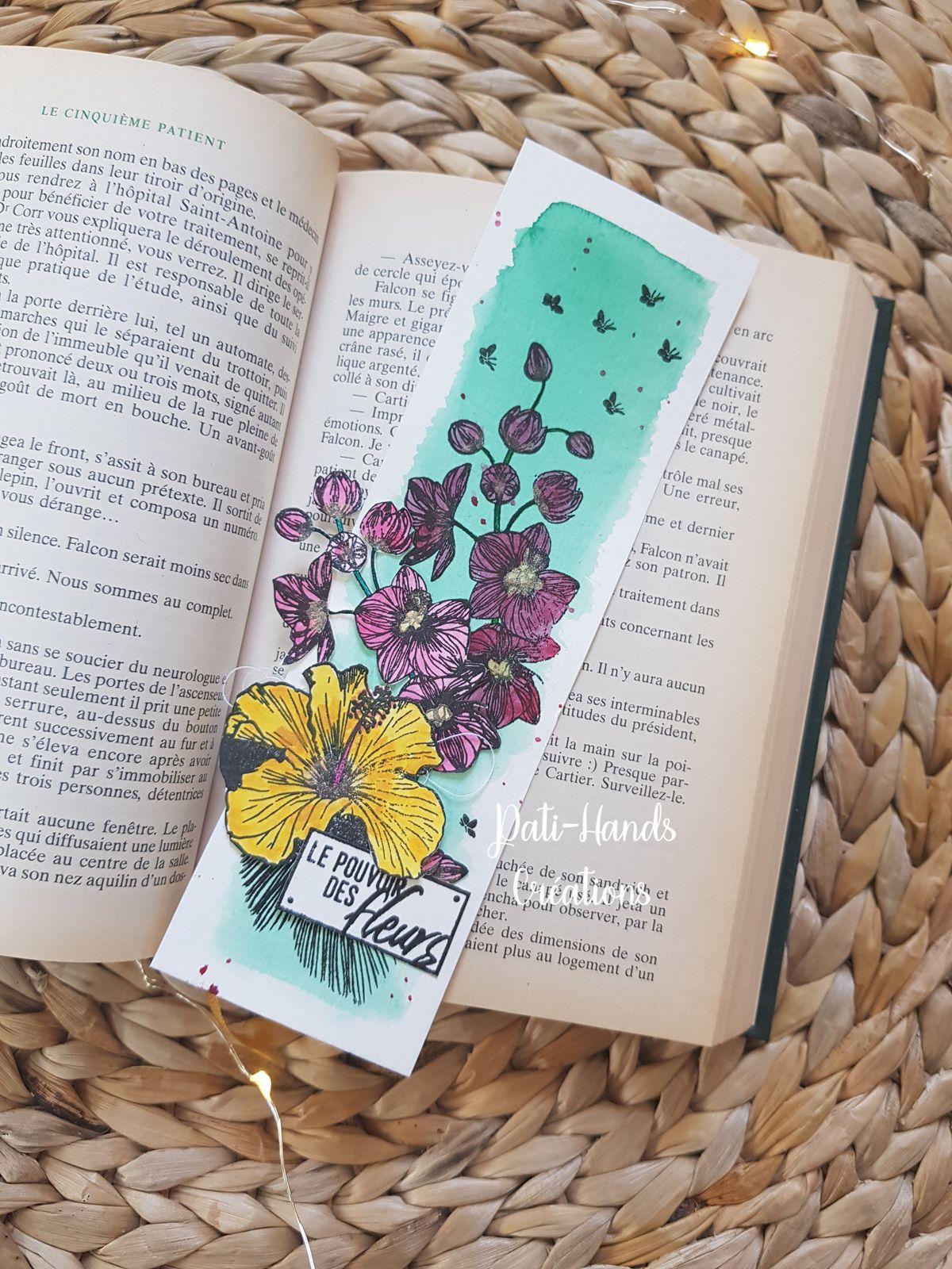 Marque-pages Le Pouvoir des Fleurs