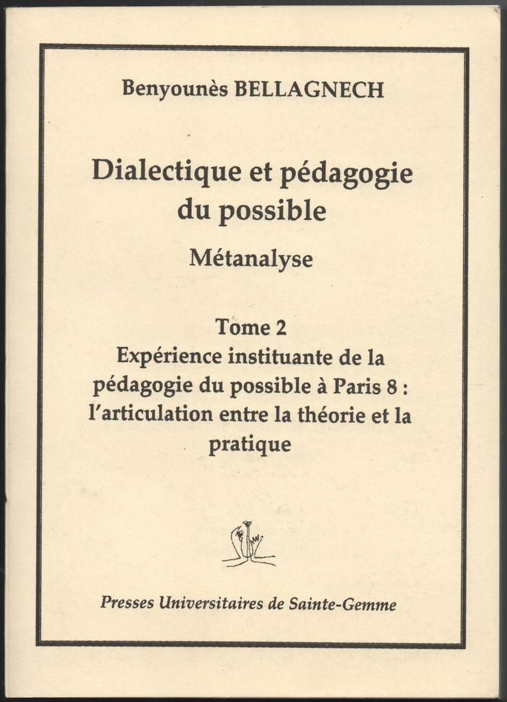 Résumé de la thèse de Benyounès Bellagnech