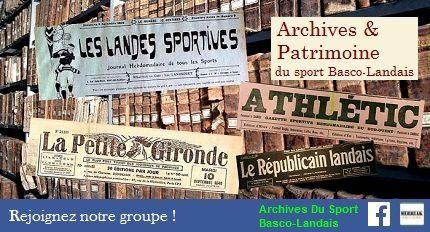 Archives & Patrimoine du sport Basco-Landais