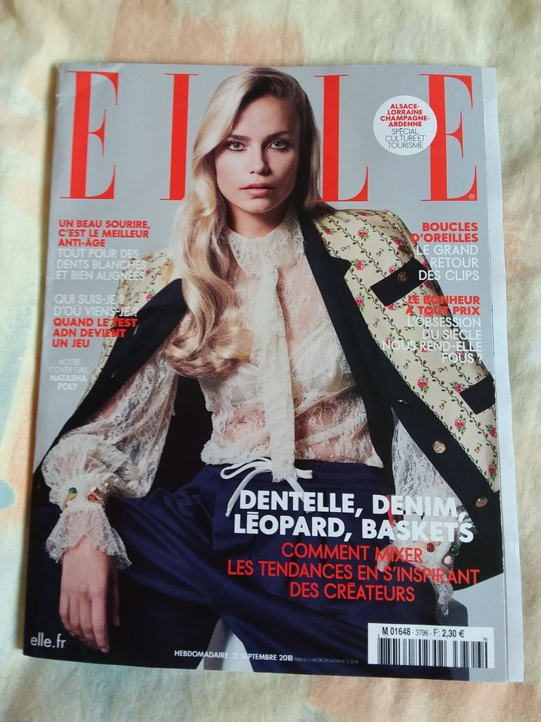 """Elle """"The mag""""!"""