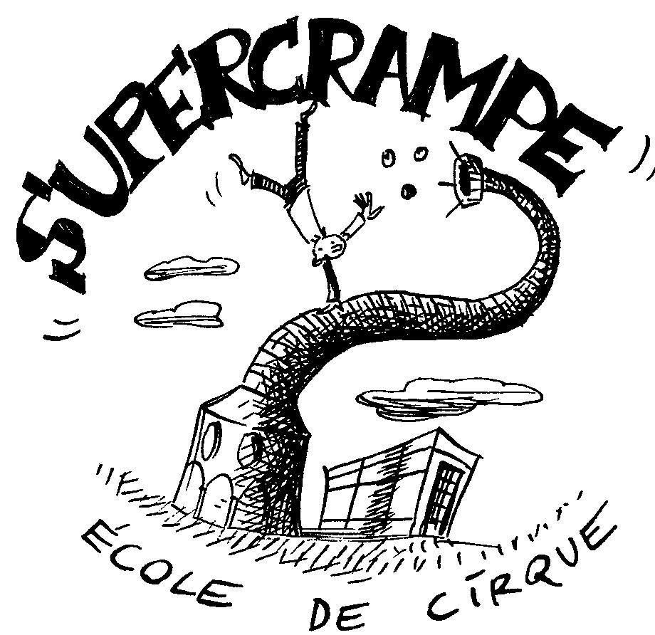 Stages de vacances de printemps à l'école de cirque Supercrampe