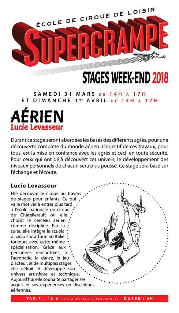 Stages week-end à thèmes