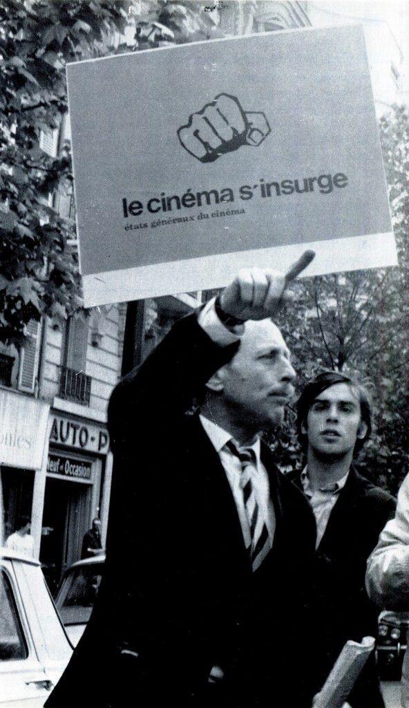 """Affiche """"Le cinéma s'insurge"""" - Mai 1968 - Etats Generaux du Cinéma n°1"""
