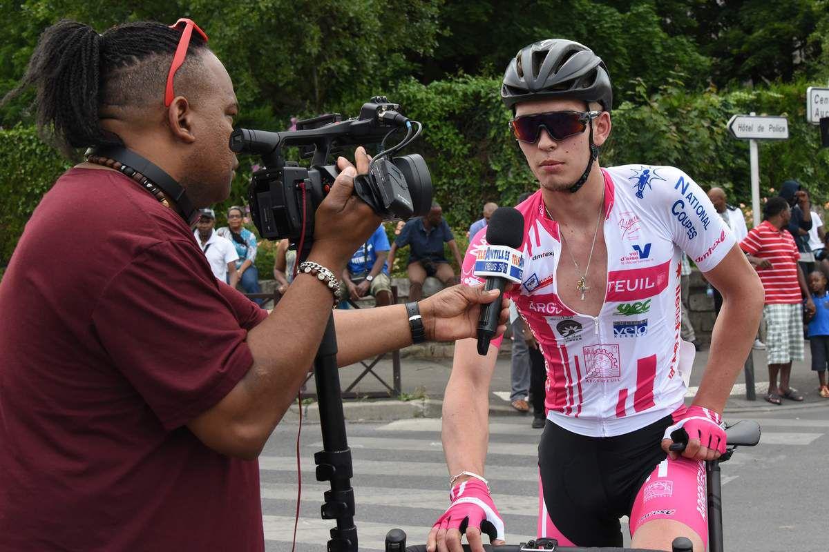 Louis REGNIER interrogé par Télé Antilles après sa victoire à Sarcelles