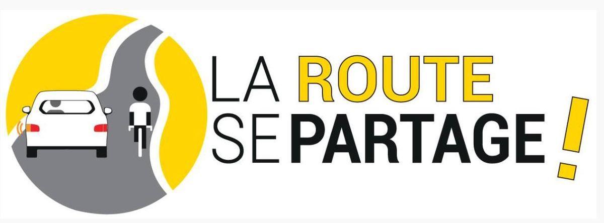 Le club cycliste d'Argenteuil soutient l'opération  ''La route se partage ! ''