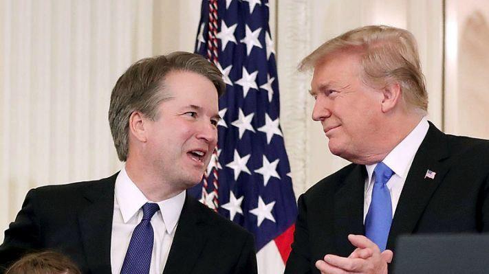 Kavanaugh élu par le Sénat à la cour suprême !
