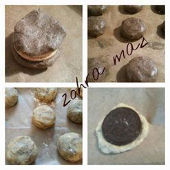 Cookies fourrés aux oréos