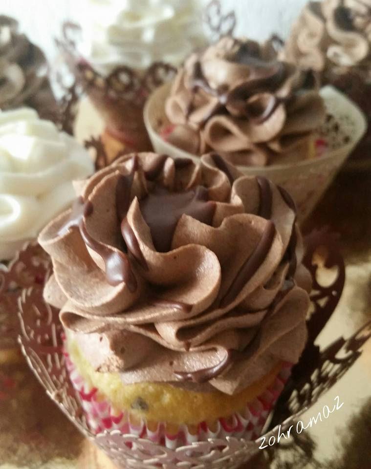 Cupcake vanille /chocolat