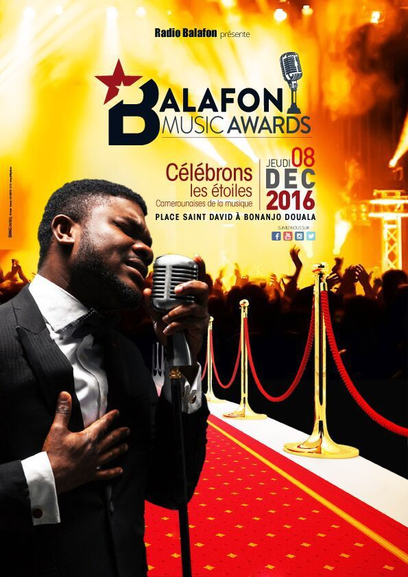 Ekambi Brillant : Parrain des Balafons Music Awards 2016