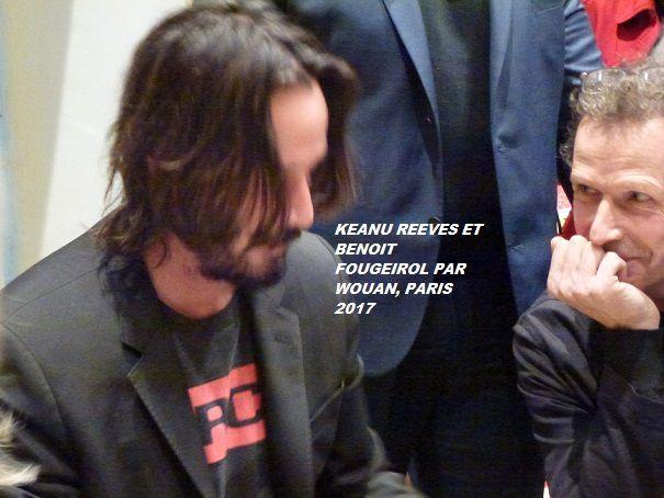 KEANU REEVES : SES NEWS AU VENDREDI 11 JANVIER 2019 PAR WOUANL ( REPLICAS, SUITE DE LA PROMO A LOS ANGELES/ KEANU REEVES DANS UNE EMISSION US THE TALK, INFOS/ REPLICAS, LE TOURNAGE EN VIDEOS/ JOHN WICK 3, COMPLEMENT/ VIDS, PHOTOS, LIENS URLS
