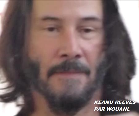 KEANU REEVES : LES PETITS PLUS DU KREEVES PAR WOUANL ( NOUVELLE MICRO-VIDEO DE NOTRE ARTISTE A PARIS EN 2017 POUR SHADOWS + PHOTOS) POST DU MARDI 19 MARS 2019