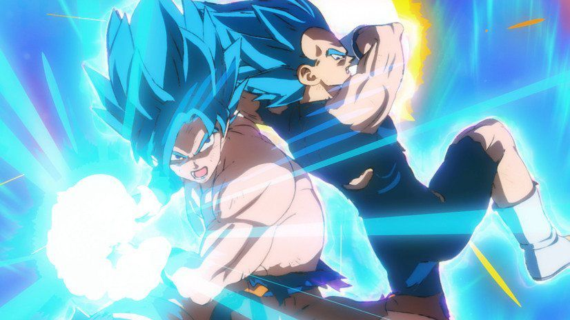 Dragon Ball Super – Broly : Goku, Vegeta