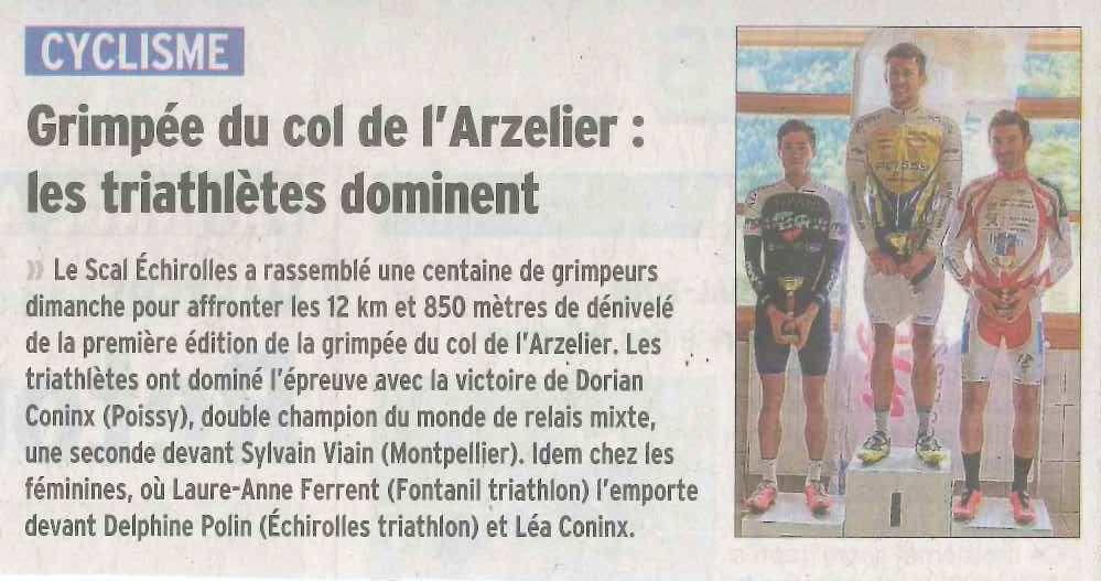 Source : Dauphiné Libéré 01/10/18