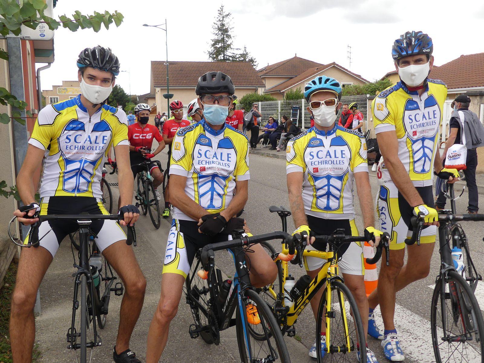 1er Grand Prix de Charantonnay et grimpée du col du Benas - 30/08/20 : les résultats