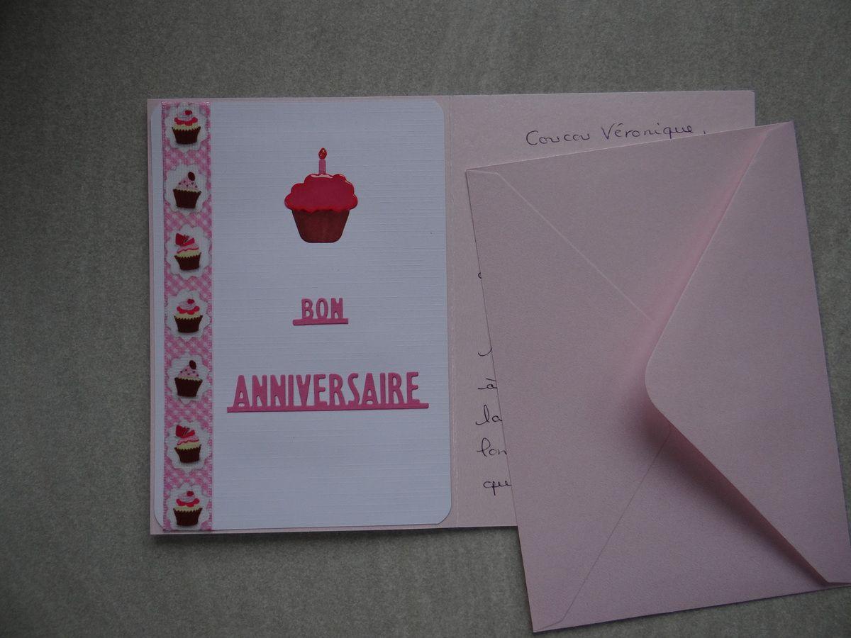 Une carte d'anniversaire en Iris Folding