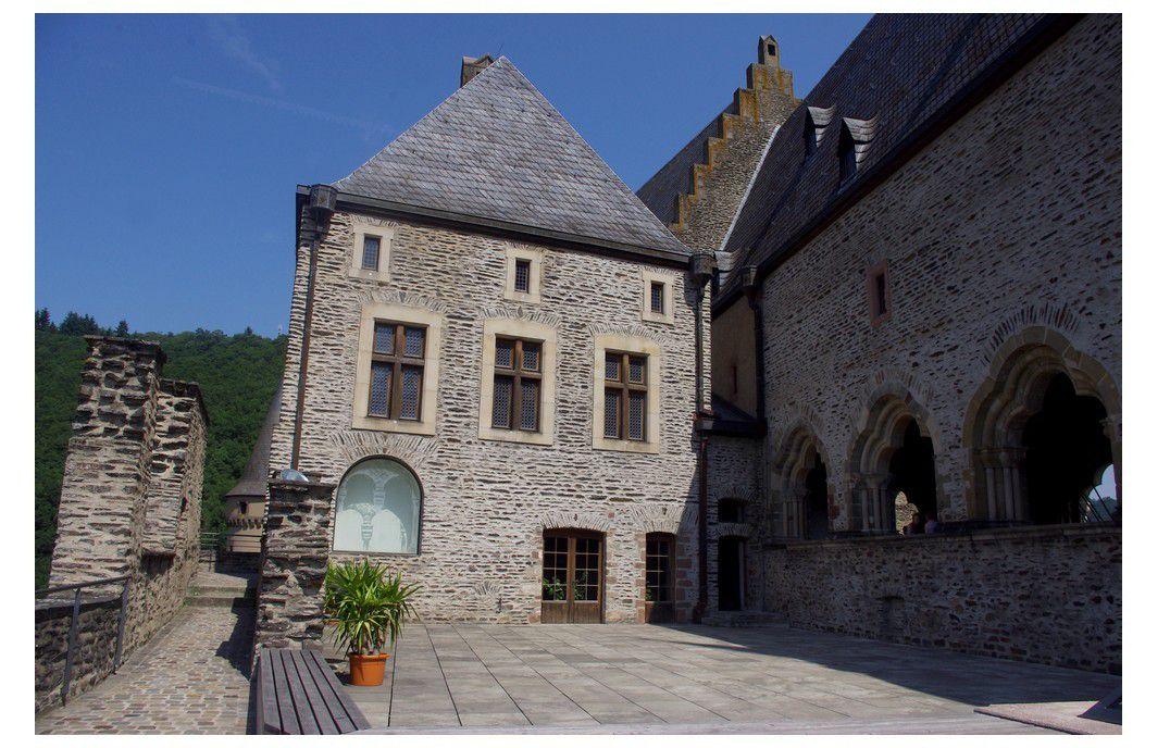 Luxembourg - le château de Vianden
