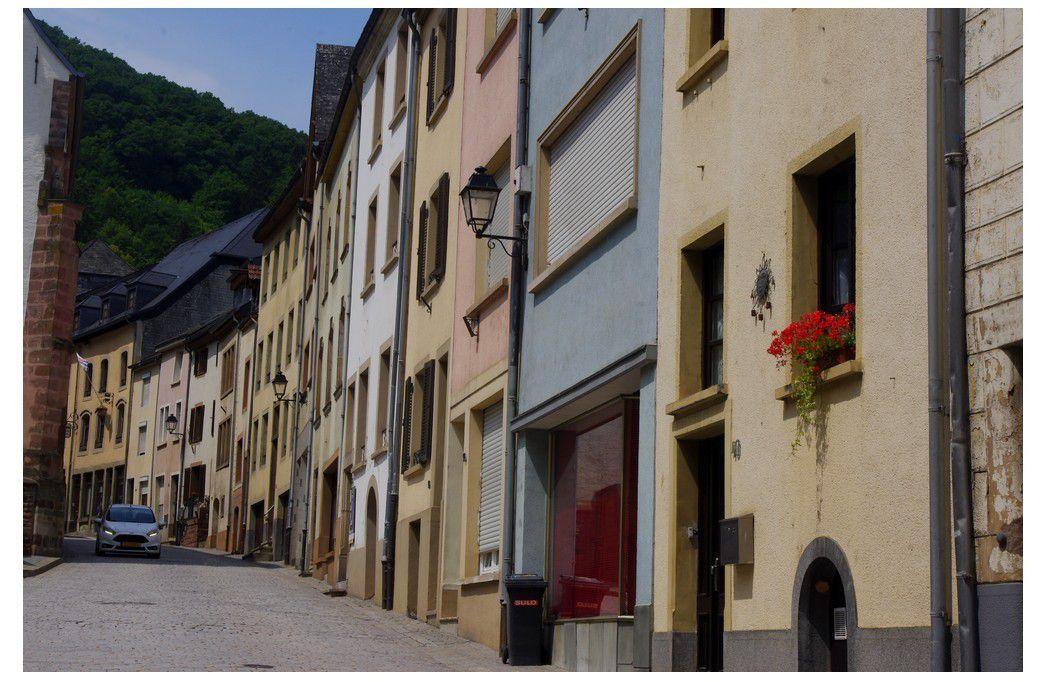 Luxembourg - Vianden ville