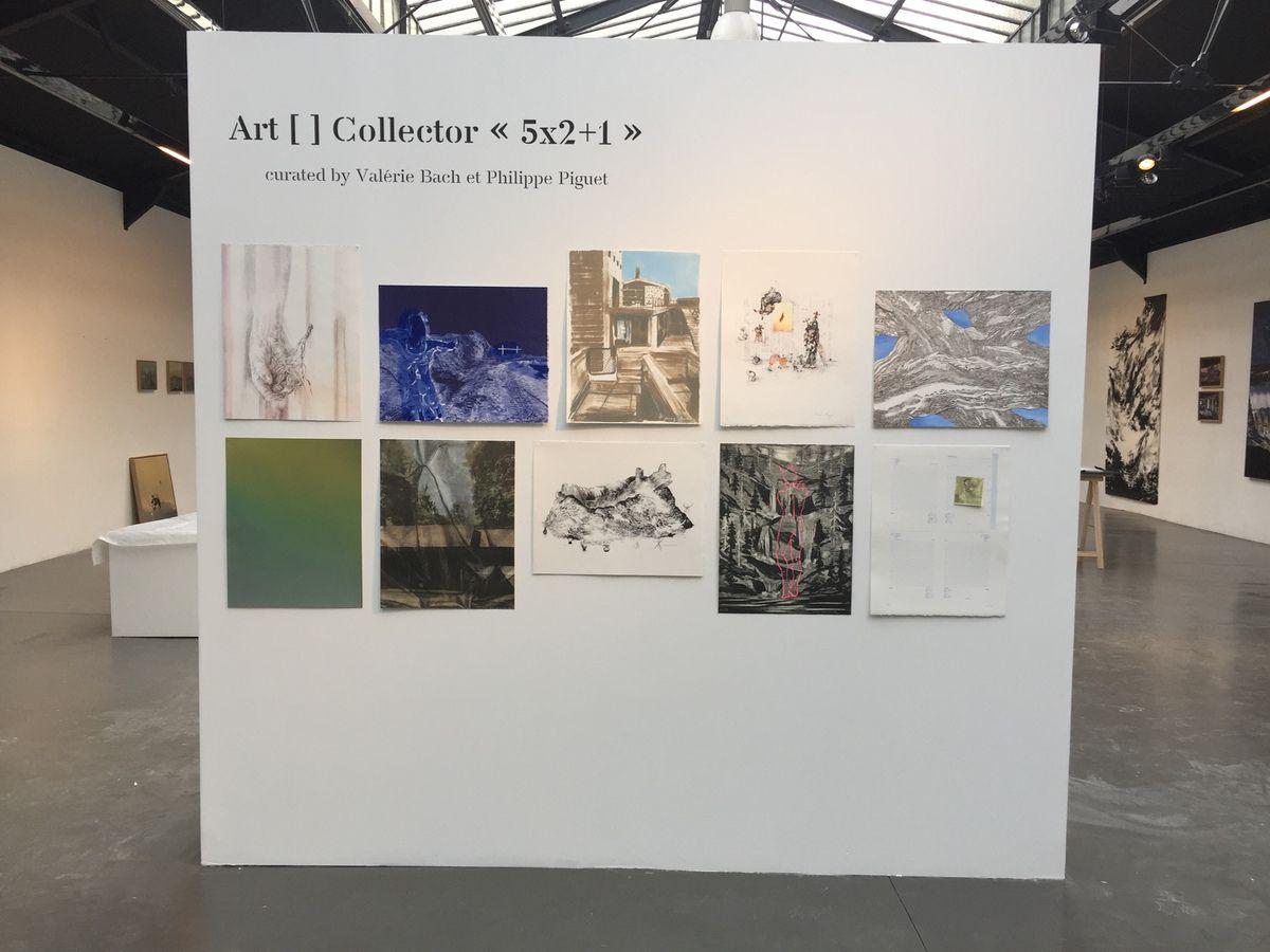 """Bruxelles (Belgique), co-commissaire de l'exposition """"art[]collector  5 x 2 + 1"""", jusqu'au 23 décembre 2017..."""