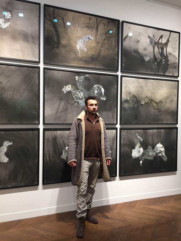 """Paris, Christie's, commissaire de l'exposition """"Lionel Sabatté, éloge de la métamorphose"""", Prix Drawing Now 2017, du 16 au 23 mars 2017..."""