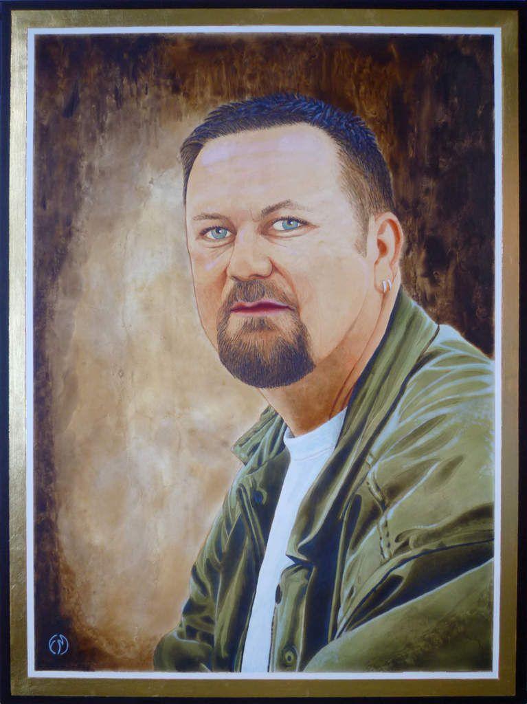 tableau peinture portrait