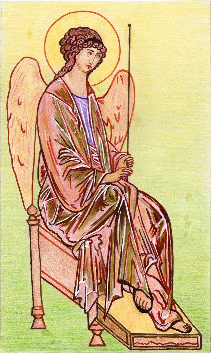 ange de la trinité de Roublev