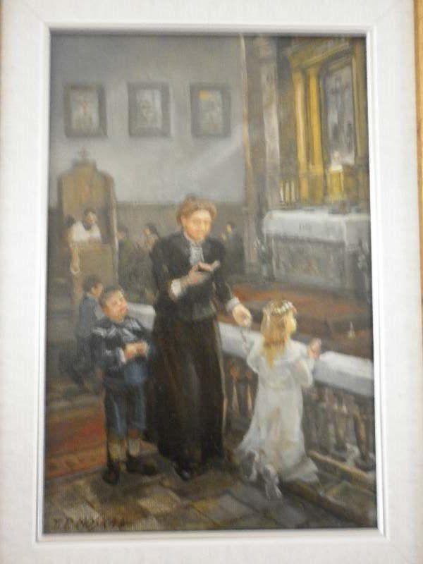 Mere Malgorzata Szewczyk en peinture