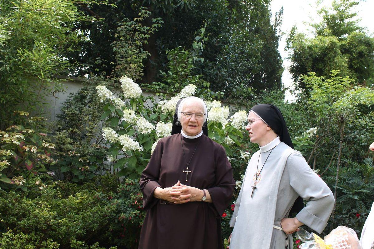 La fête chez les Franciscaines 2.8.2019 à Montmorency
