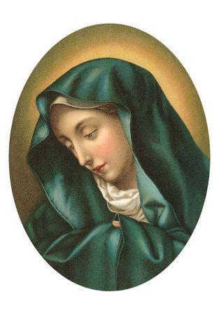 NOTRE DAME DES DOULEURS priez pour nous-Matko Boża Bolesna módl się za nami.