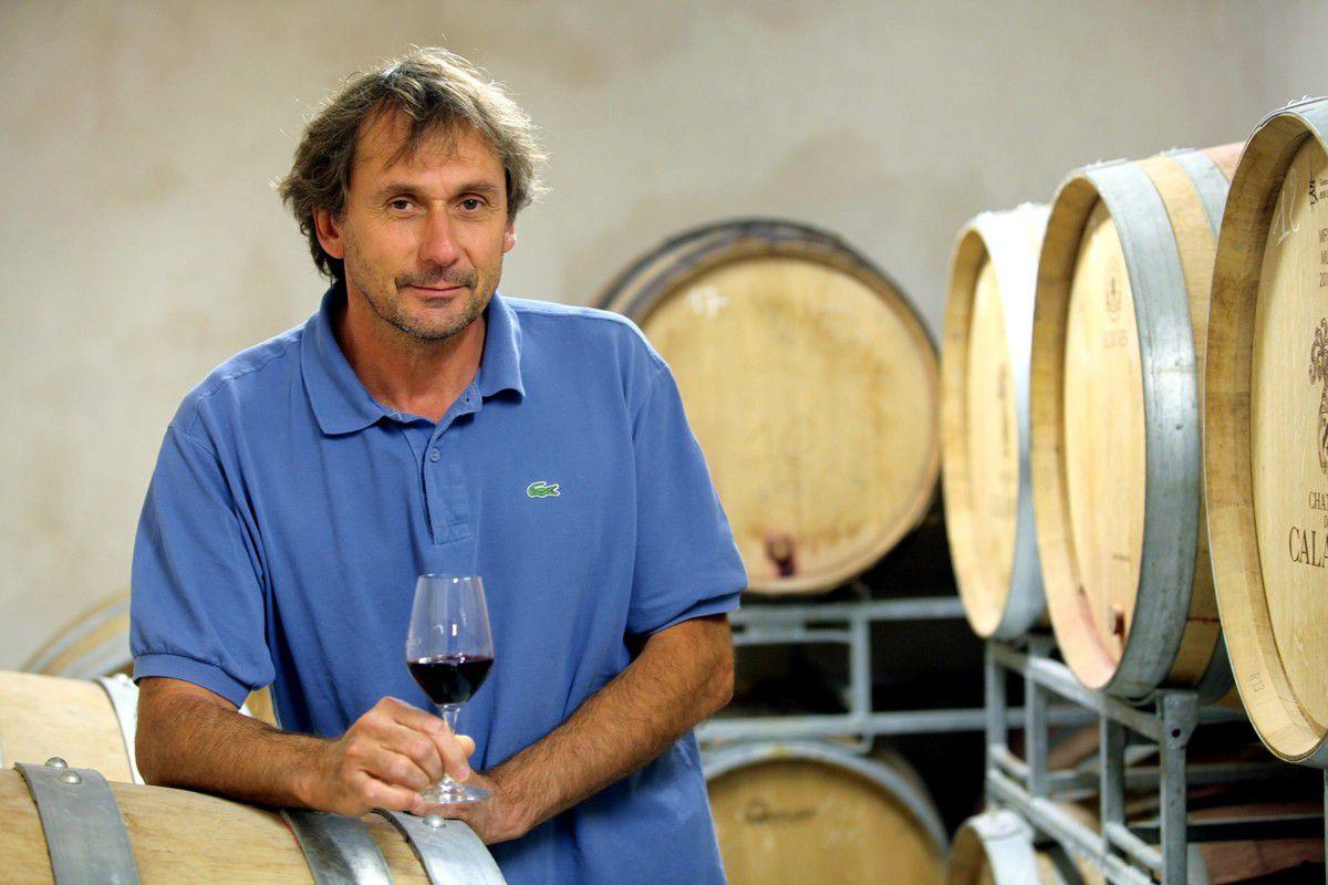 Michel Audibert, veut s'affirmer grâce à ses vins rouges. © Jean Bernard