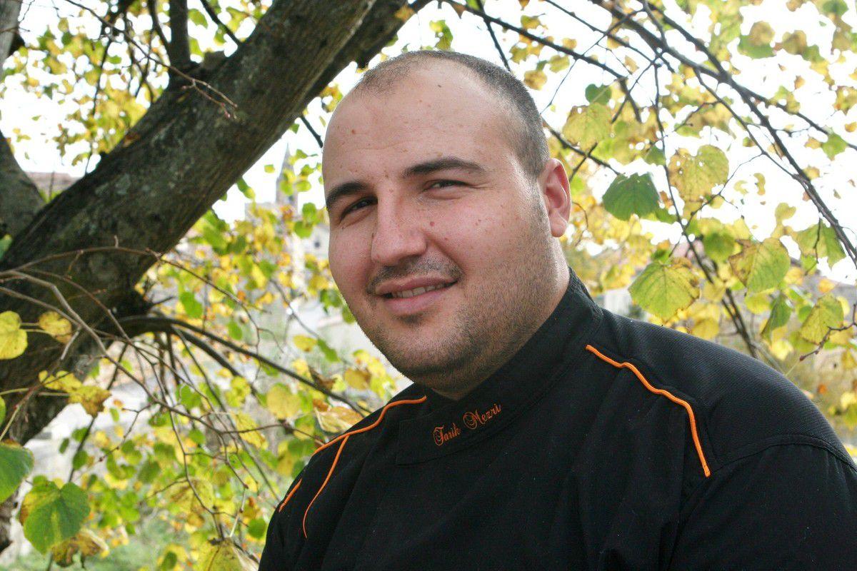En Ardèche, Tarik Mezri-Charmasson a décroché un Bib cette année pour son Auberge des granges, à Bessas. (archive JB)