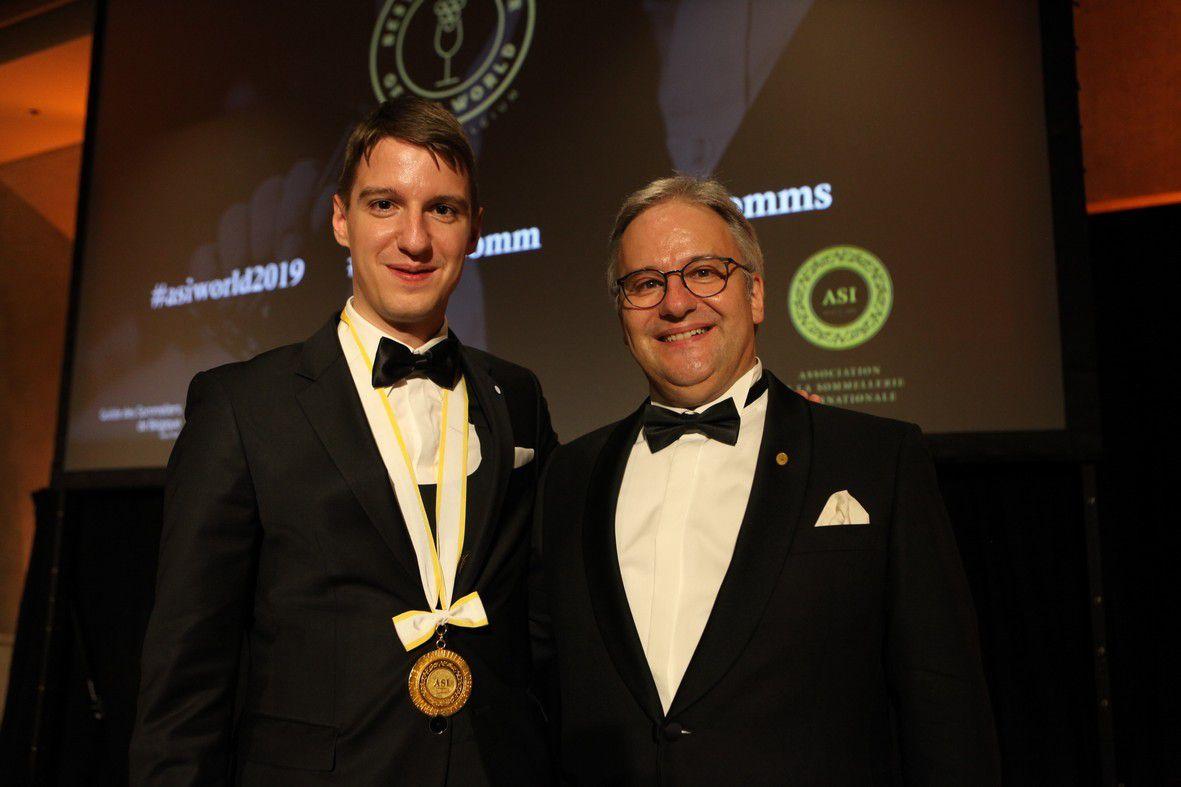 Sommellerie : Markus del Monego commente le succès mondial de son compatriote Marc Almert