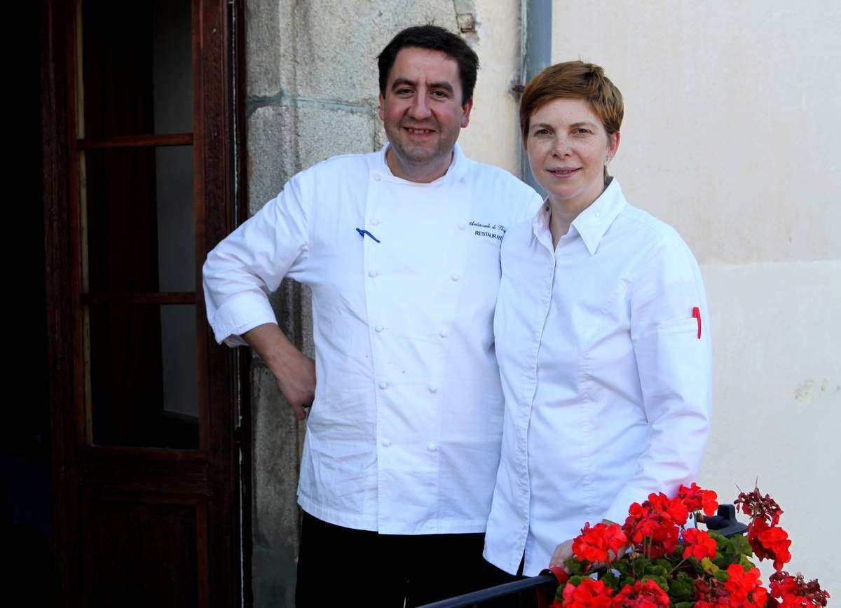 Albert Boronat Miro et Mélina Allair, tandem gagnant lors de la sélection espagnole. Photo JB