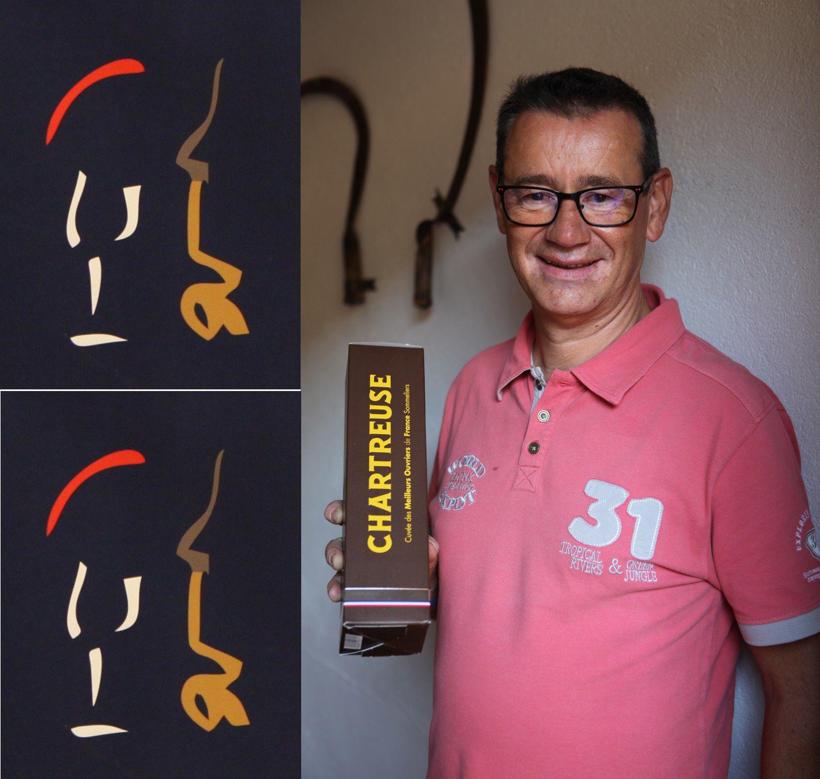 Frédéric Simon coordonne les informations du trophée qui vient d'accueillir un nouveau partenaire, les liqueurs Chartreuse.