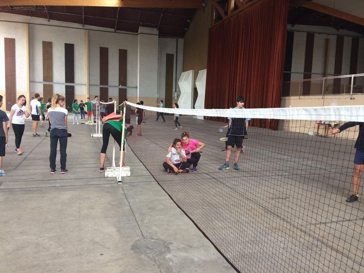 Championnat départemental de badminton à Villeneuve sur Lot