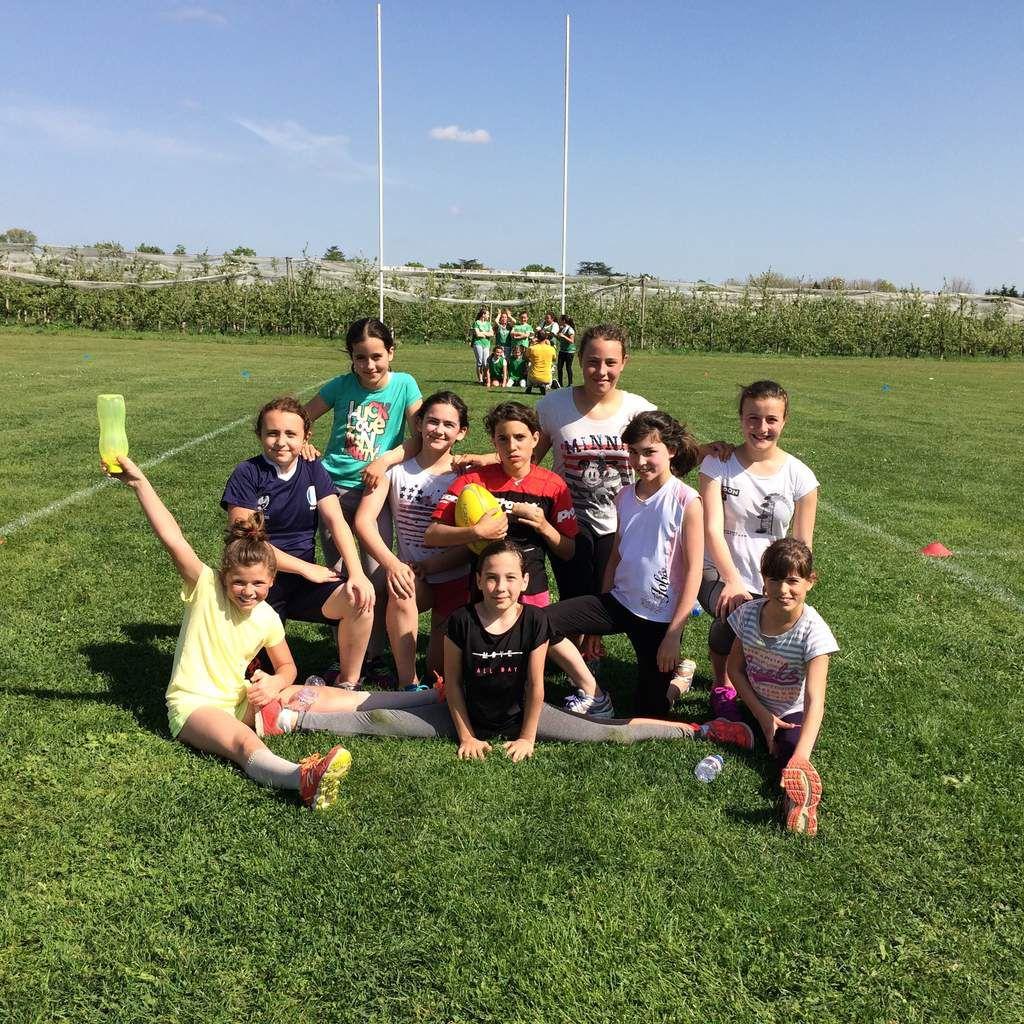 Le traditionnel tournoi de rugby 6 ème à Villeneuve Sur Lot.