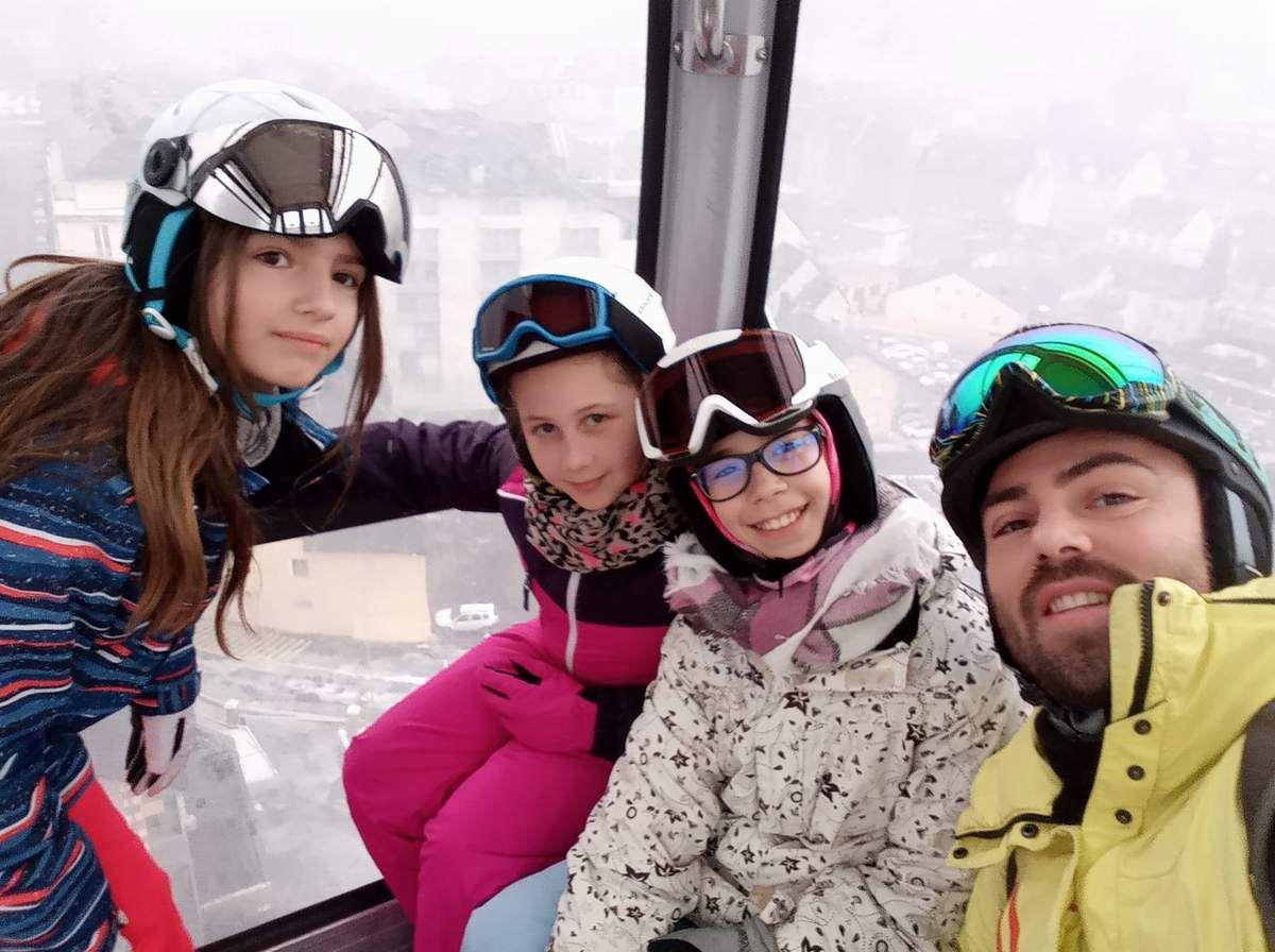 Premier jour de ski, journée blanche, mais riche...