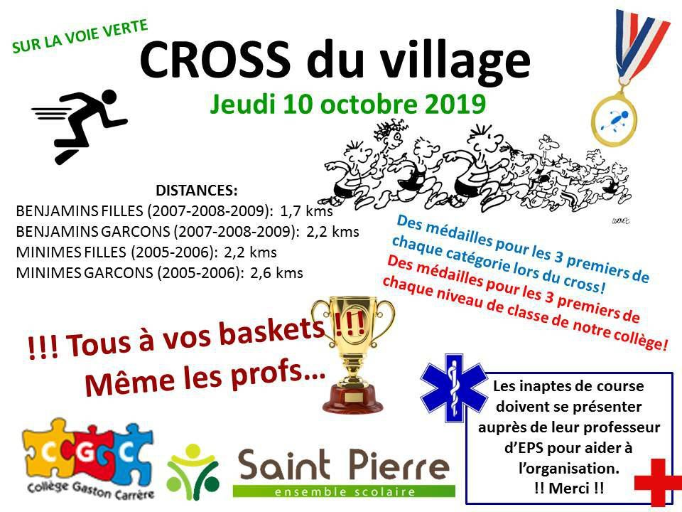 CROSS DU VILLAGE - EDITION 2019