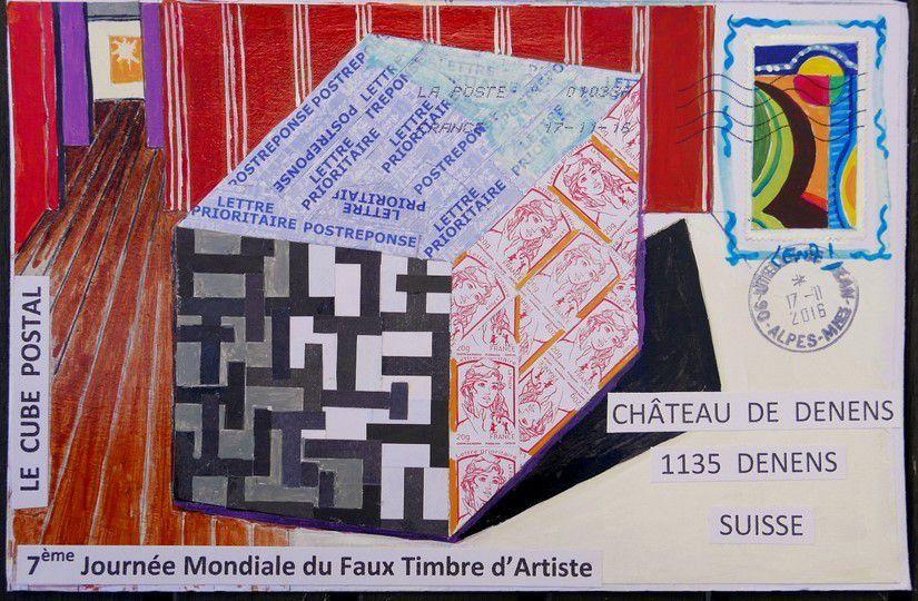 7ème JOURNÉE MONDIALE DU FAUX TIMBRE D'ARTISTE (1)