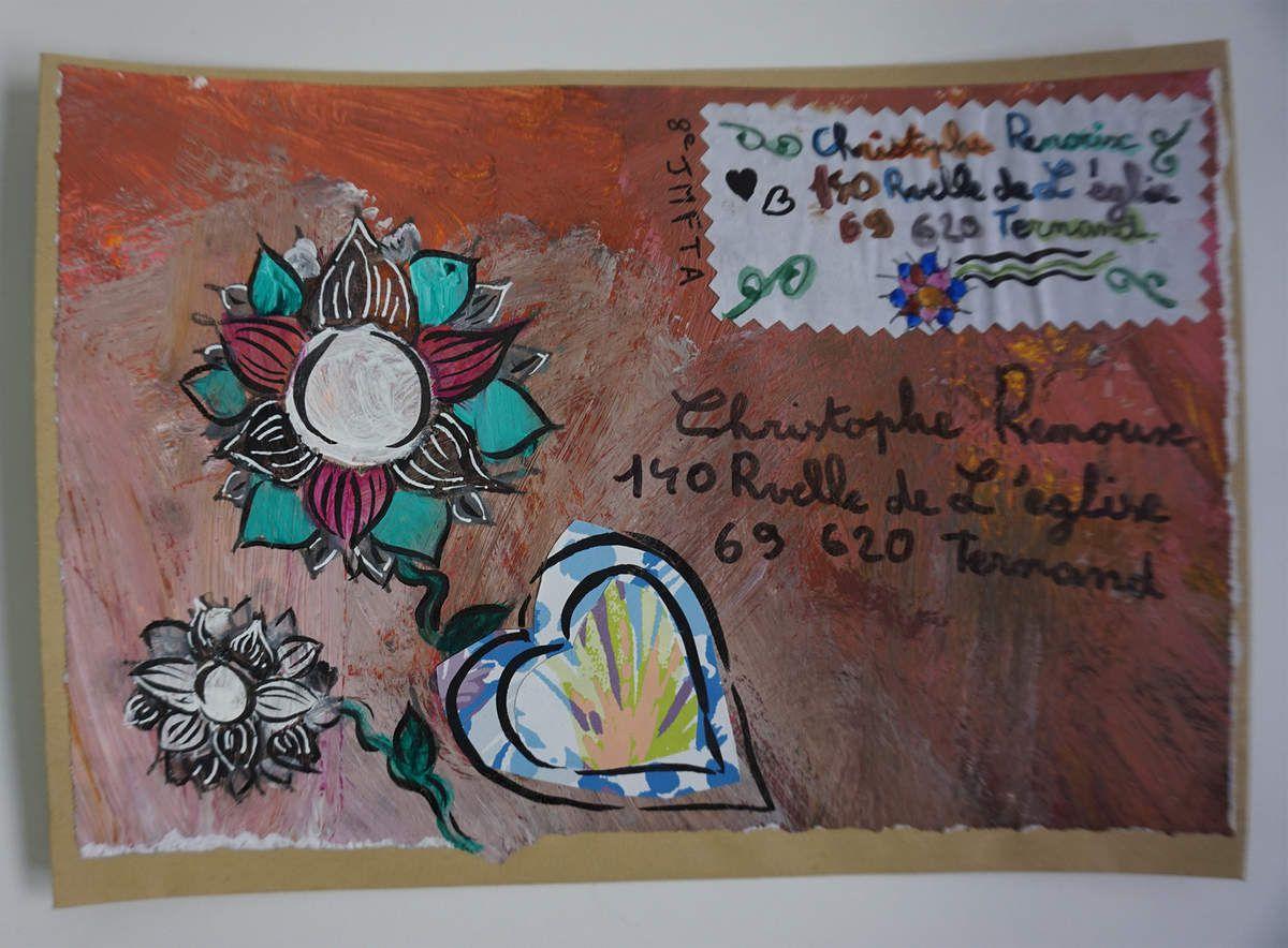 Atelier d'Annick Dervissoglou pour la 8ème JMFTA par des enfants...