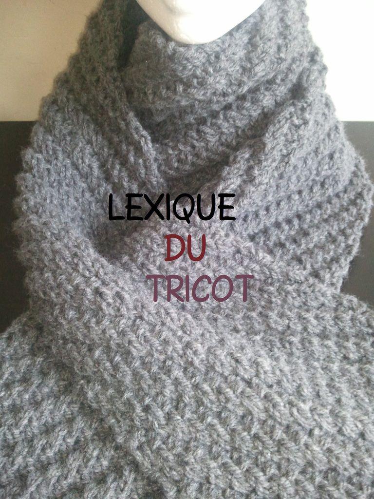 Lexique de tricot