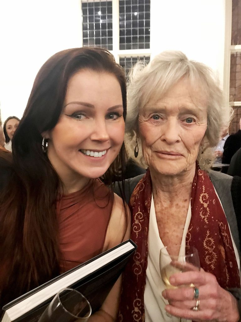 I had the chance to meet the famous and lovely Virginia McKenna!