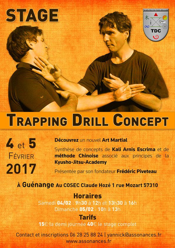 Stage de trapping drill concept