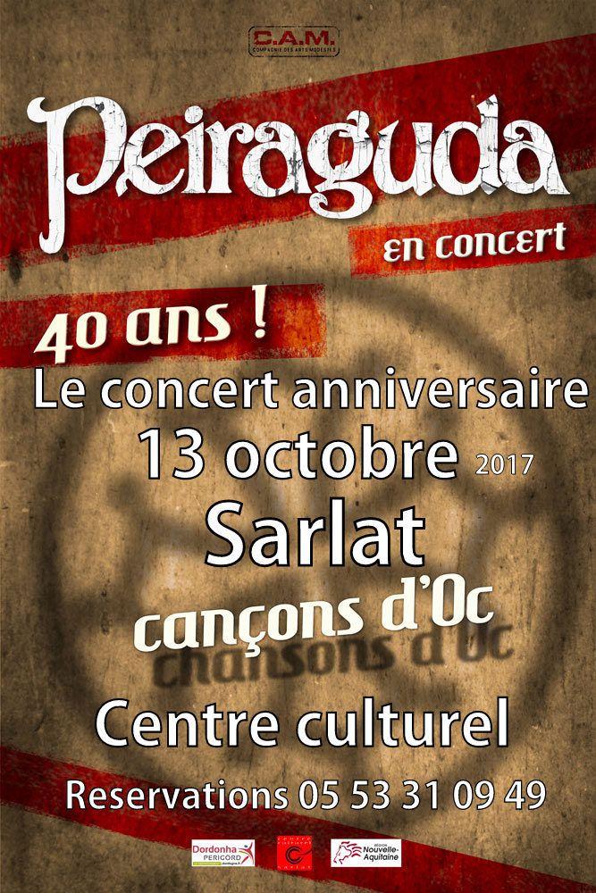 Peiraguda fête ses 40 ans!!!