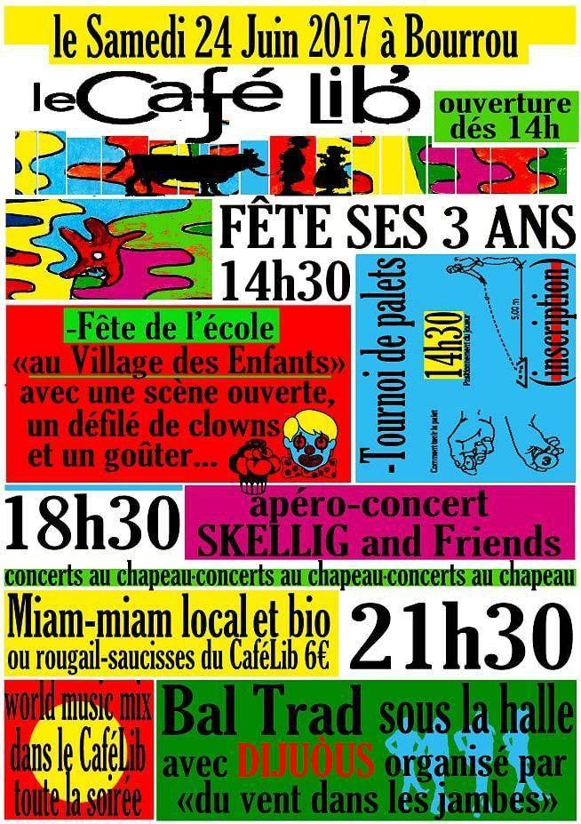 Bal Trad à Bourrou Samedi 24 Juin
