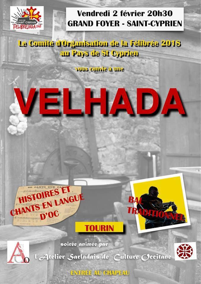 Veillée occitane avec Bal Trad à St Cyprien le 2 février